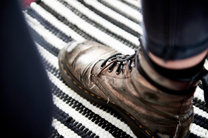 dr martens boots well worn